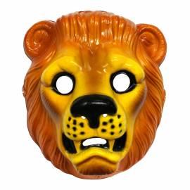 Masque de lion en plastique