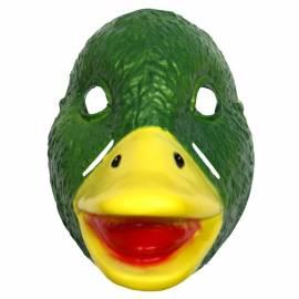 Masque de canard colvert en plastique