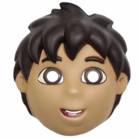 Masque de garçon de dessin animé en mousse