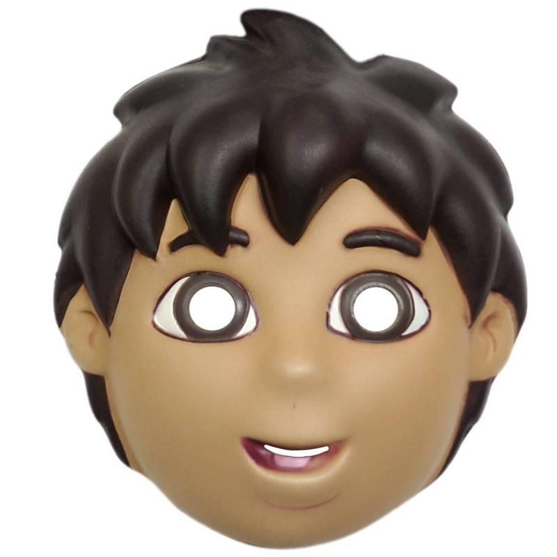 Masque de garçon de dessin animé