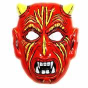 Masque de diable, de démon en plastique