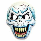 Masque de squelette grimaçant en plastique