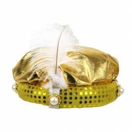 Chapeau de sultan doré