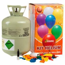 Kit d'hélium pour environ 30 ballons