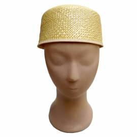 Chapeau de paille sans bord