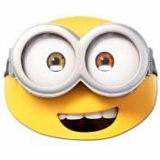Masque du minion Bob en carton