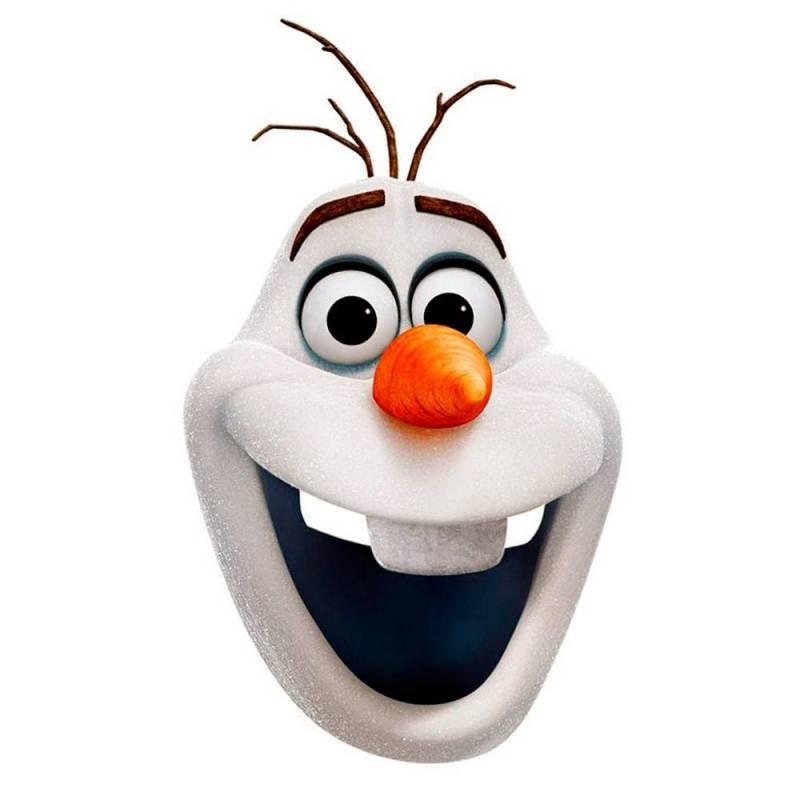 Masque en carton de olaf la reine des neiges - Olafe la reine des neiges ...