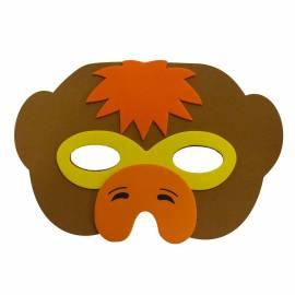 Loup en mousse de singe