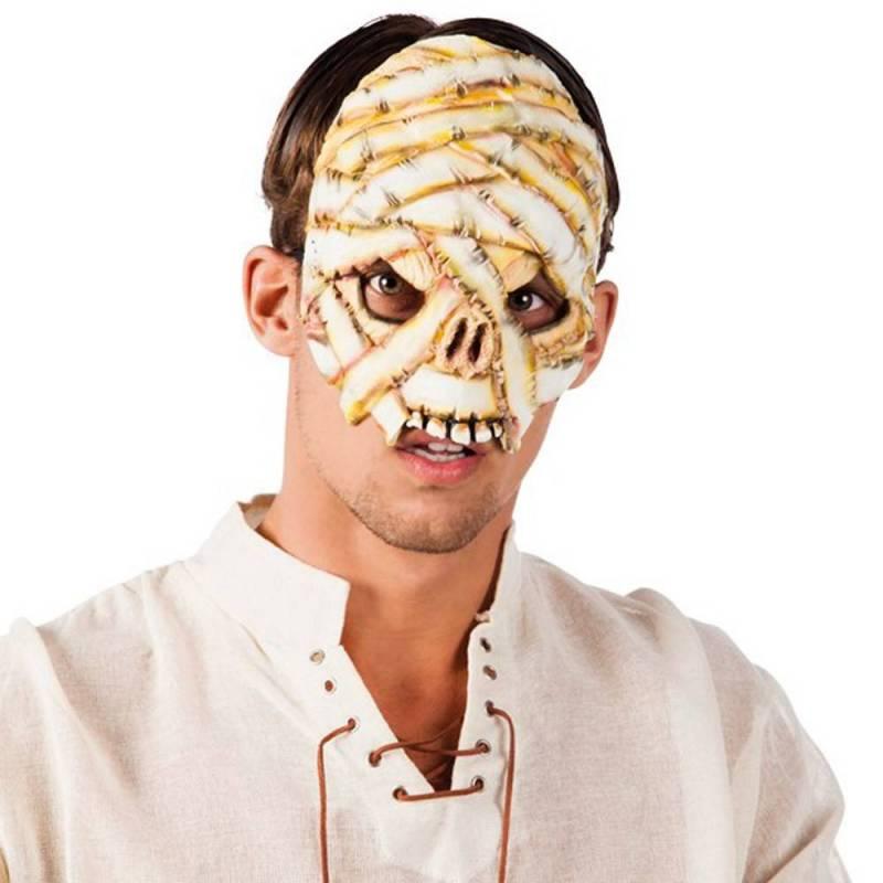 Masque en latex de momie