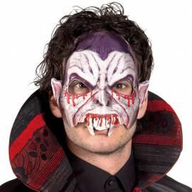 Masque rigide de vampire avec les yeux injectés de sang