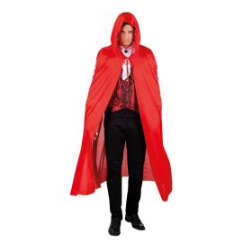Cape vampire a capuche en polyester 180cm