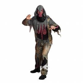 Deguisement squelette rouge