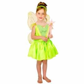 Robe enfant verte fluo de la fée Clochette