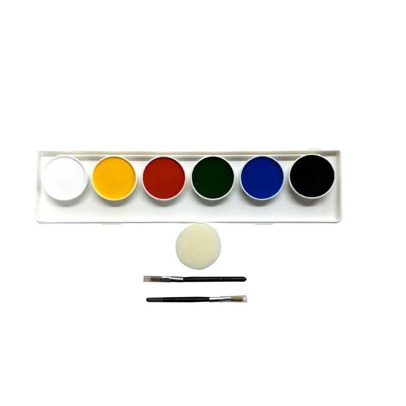 Palette de maquillage de 6 couleurs