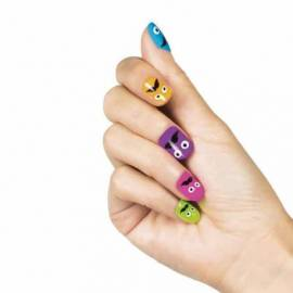 24 faux ongles fantaisie