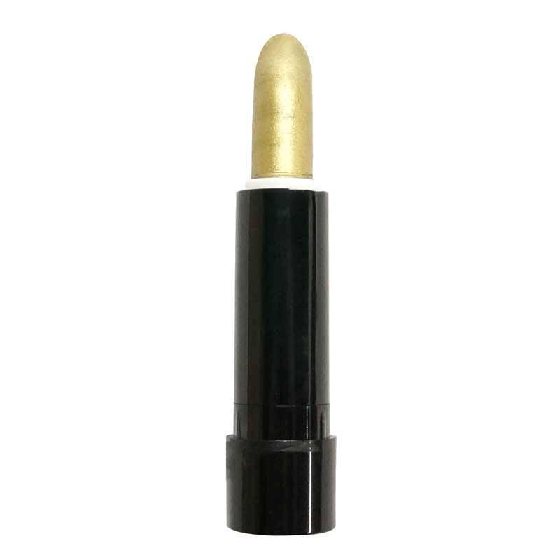 Rouge à lèvres or ou argent