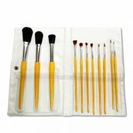 11 pinceaux à maquillage