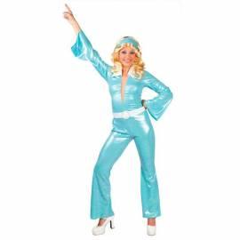 Déguisement turquoise disco pour femme