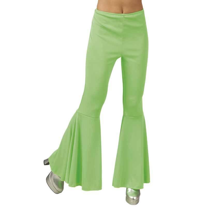 Pantalon patte d'eph de couleur, pour femme