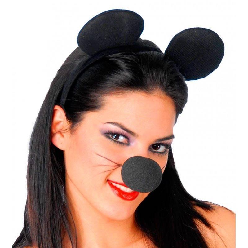 Serre-tête avec oreilles de Mickey