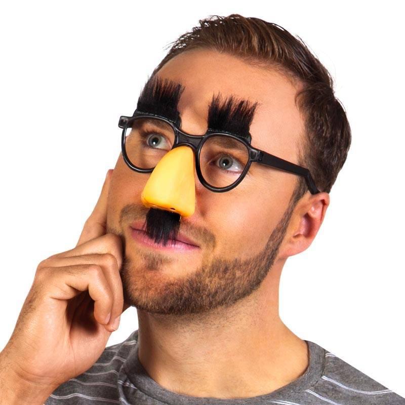 Pack Charlot   Nez, lunettes, sourcils et moustaches 0243bb497869