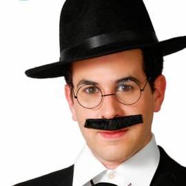 Moustache style abat jour