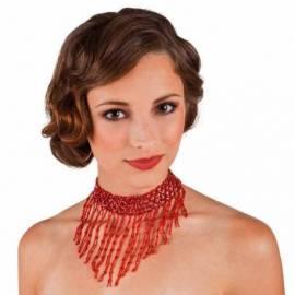 Collier oriental en perles de couleur