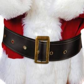 Grosse ceinture noire de Père Noël