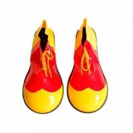 Grosses chaussures bicolores de clown