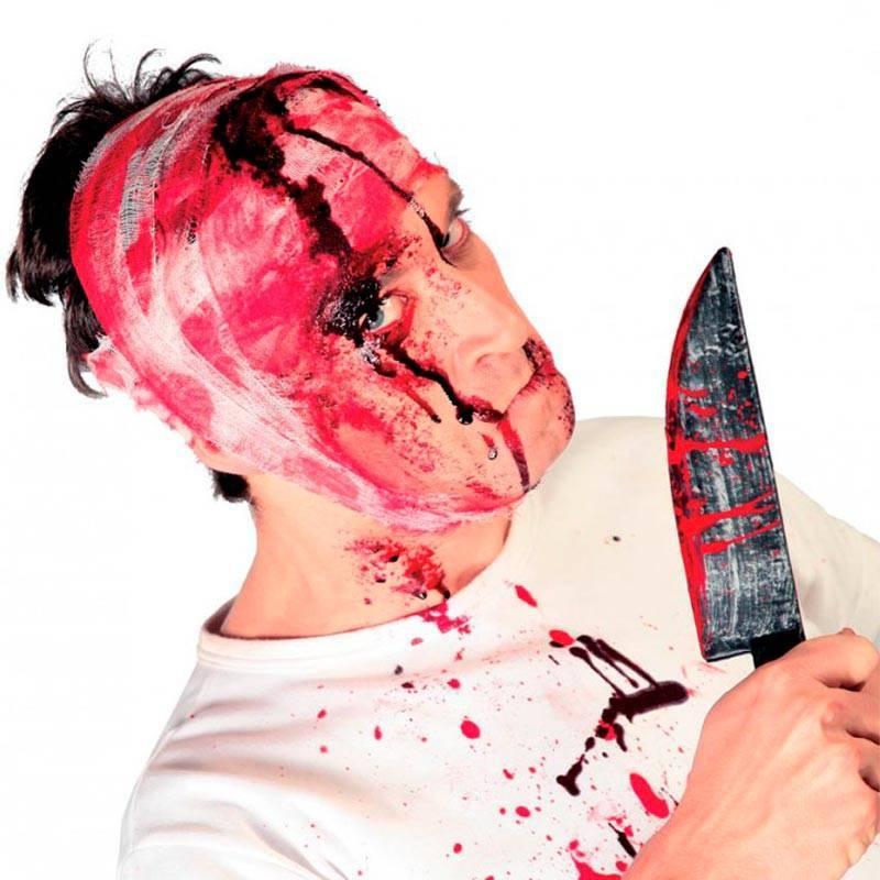 Fausse bandelette sanguinolante