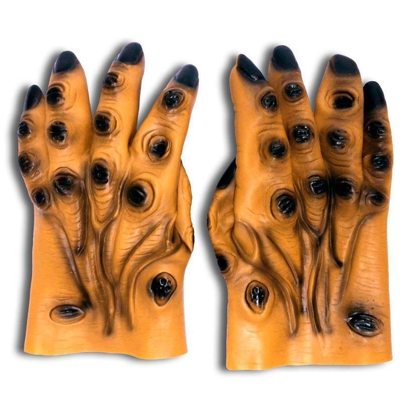 Paire de gants en forme de grosses mains