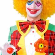 Grosse fleur arroseuse de clown
