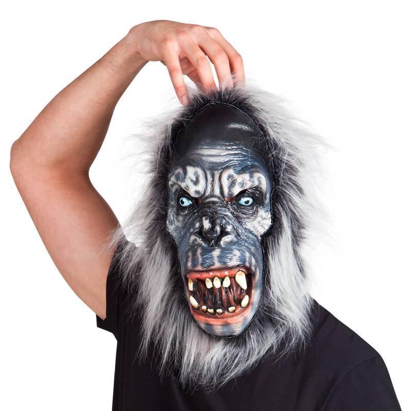 Masque en latex de gorille