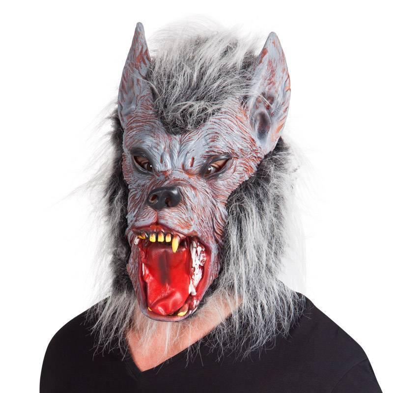 Masque en latex de loup-garou