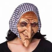 Masque en latex de sorcière