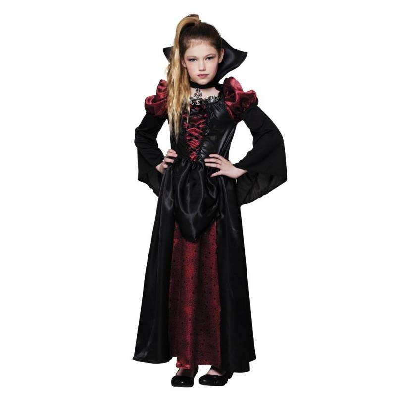 Robe noire et bordeaux de veuve noire
