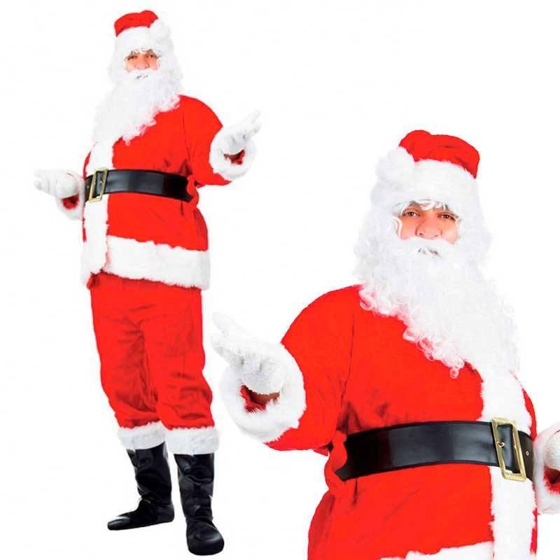 Déguisement de Père Noël de luxe