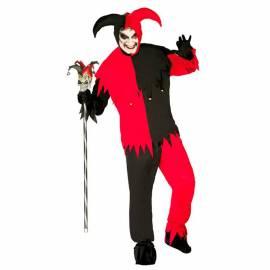 Déguisement de joker rouge et noir