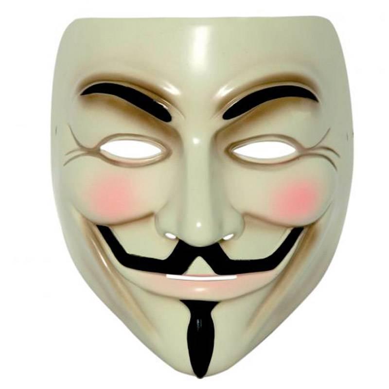 Masque d'Anonymous - V pour Vandetta