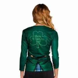 Tee shirt Saint Patrick femme