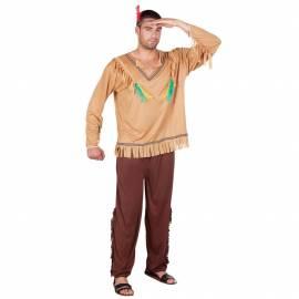 Déguisement indien dans déguisement Western