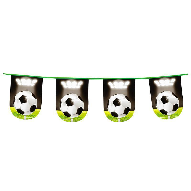 Guirlande de fanions avec ballon de foot