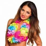 Collier hawaïen multicolore