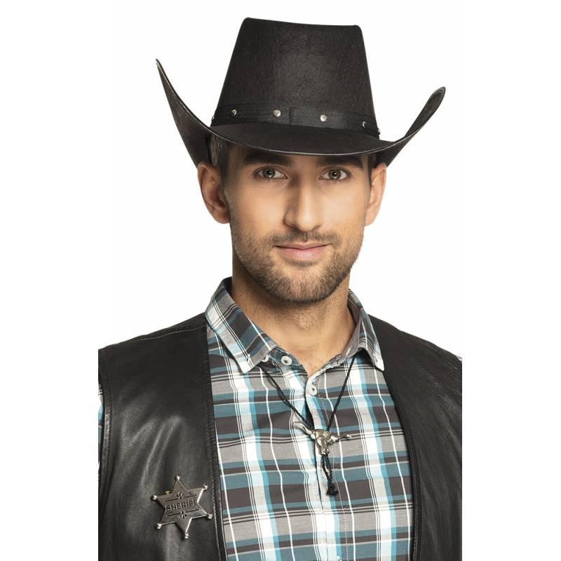 Insigne shérif et collier déguisement Western
