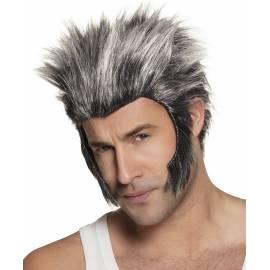 Perruque loup garou pour homme
