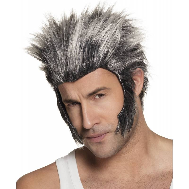 Perruque homme loup garou
