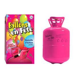 Bombonne d'hélium pour environ 50 ballons