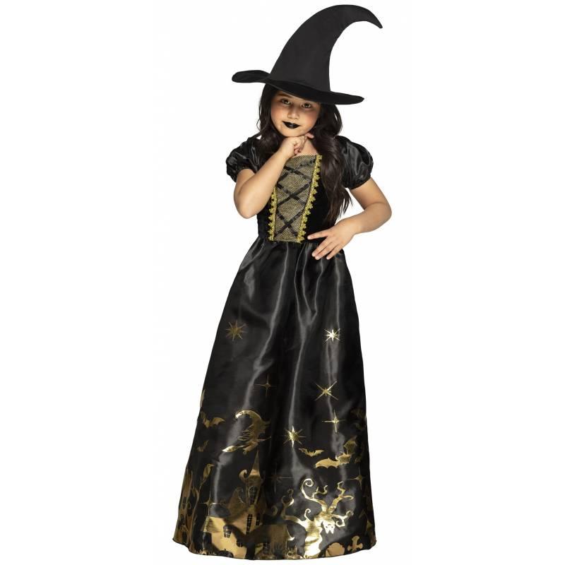 Costume sorcière spooky witch pour enfant