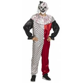 Costume adulte psycho clown