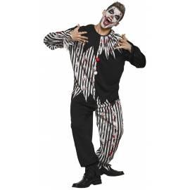 Costume de clown bloody pour adulte